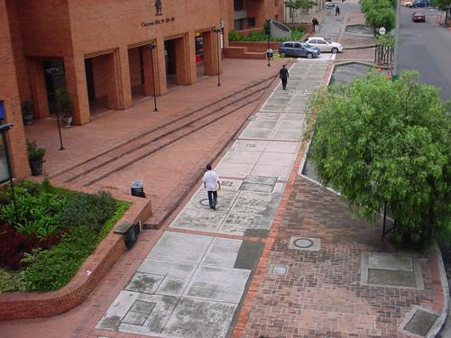 Calle Centro Bavaria. Bogotá_Colombia