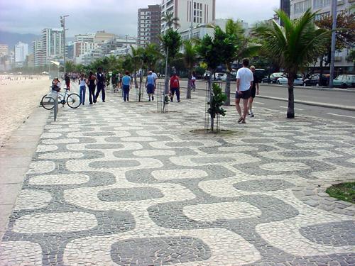 Paseo de Copacabana. Rio de Janeiro_Brasil
