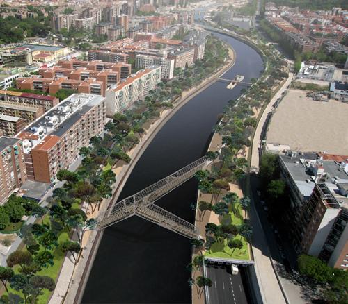 Imagen final  de la reactivación de la zona para el 2011. Madrid_España