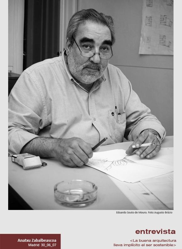 entrevista e souto de moura arquitecto portugus ucla buena lleva implcito el ser propuestas inconsultas