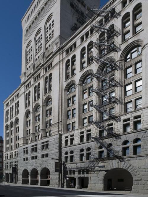 Fachada del Auditorium Building. Addler y Sullivan,1889.Chigado_USA.