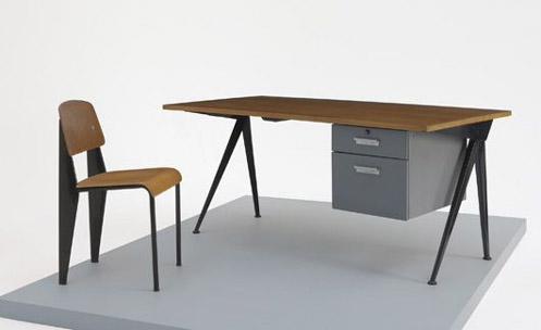 Mobiliario de Jean Prouvé