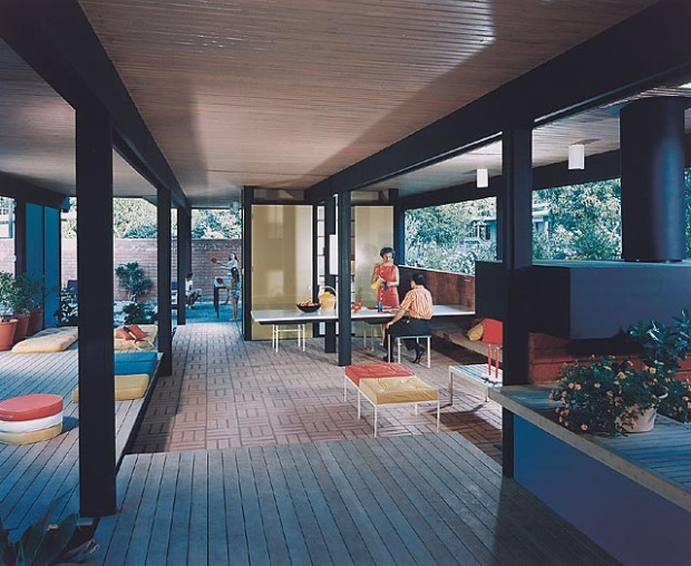 Recreation Pavillion Mirman Residence, 1959