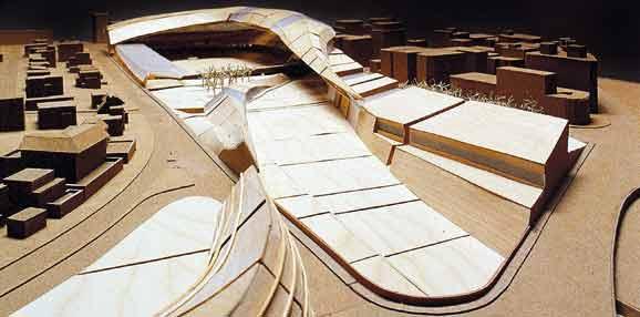 Propuesta para el Estadio de Riazor. La Coruña. España