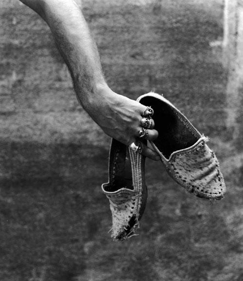 Autorretrato con mocasines. 1988
