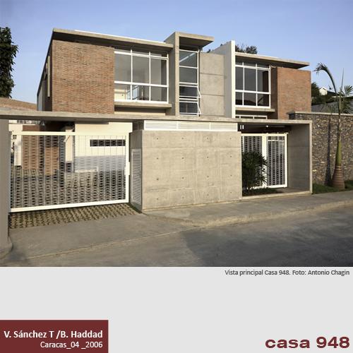 Casa 948 V S Nchez Taffur B Haddad Venezuela