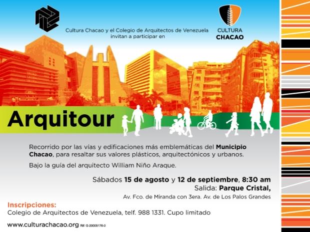 Arquitour. CAV / Cultura Chacao