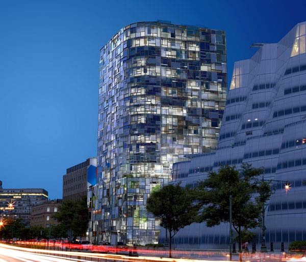 100 11th avenue condo tower. new york city . jean nouvel