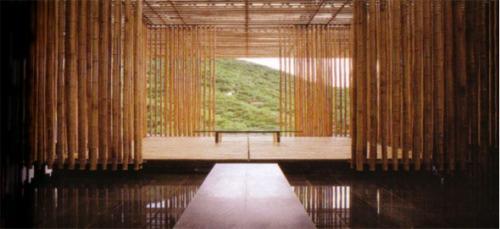 Bamboo Wall House