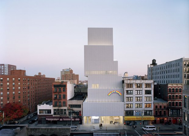 New Museum. New York City. photo Dean Kaufman