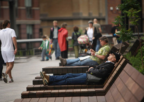 parque high line. foto: getty
