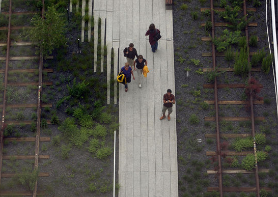 vista-aerea high line. foto. getty