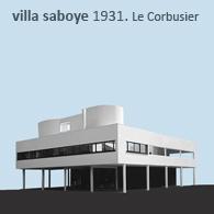 VILLA SAVOYE HOUSE 1931