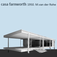 CASA FANSWORTH HOUSE 1950