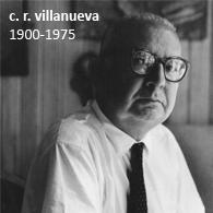 CARLOS RAÚL VILLANUEVA 1900