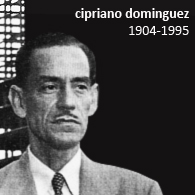 CIPRIANO DOMÍNGUEZ 1904