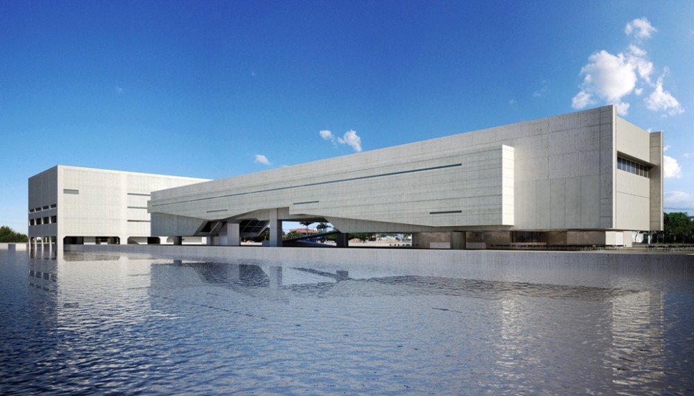 Casa de las Artes. Mendes da Rocha + Metro. Vitória, Brasil. 2011