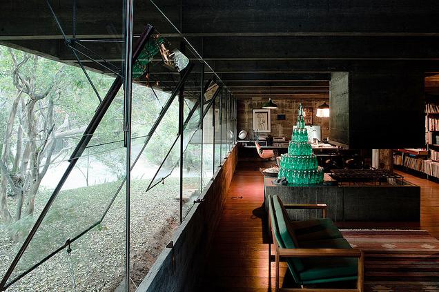 Casa Butana (Vivienda del arquitecto). Sao Paulo, 1966.Foto: google images / www.pedrokok.com.br