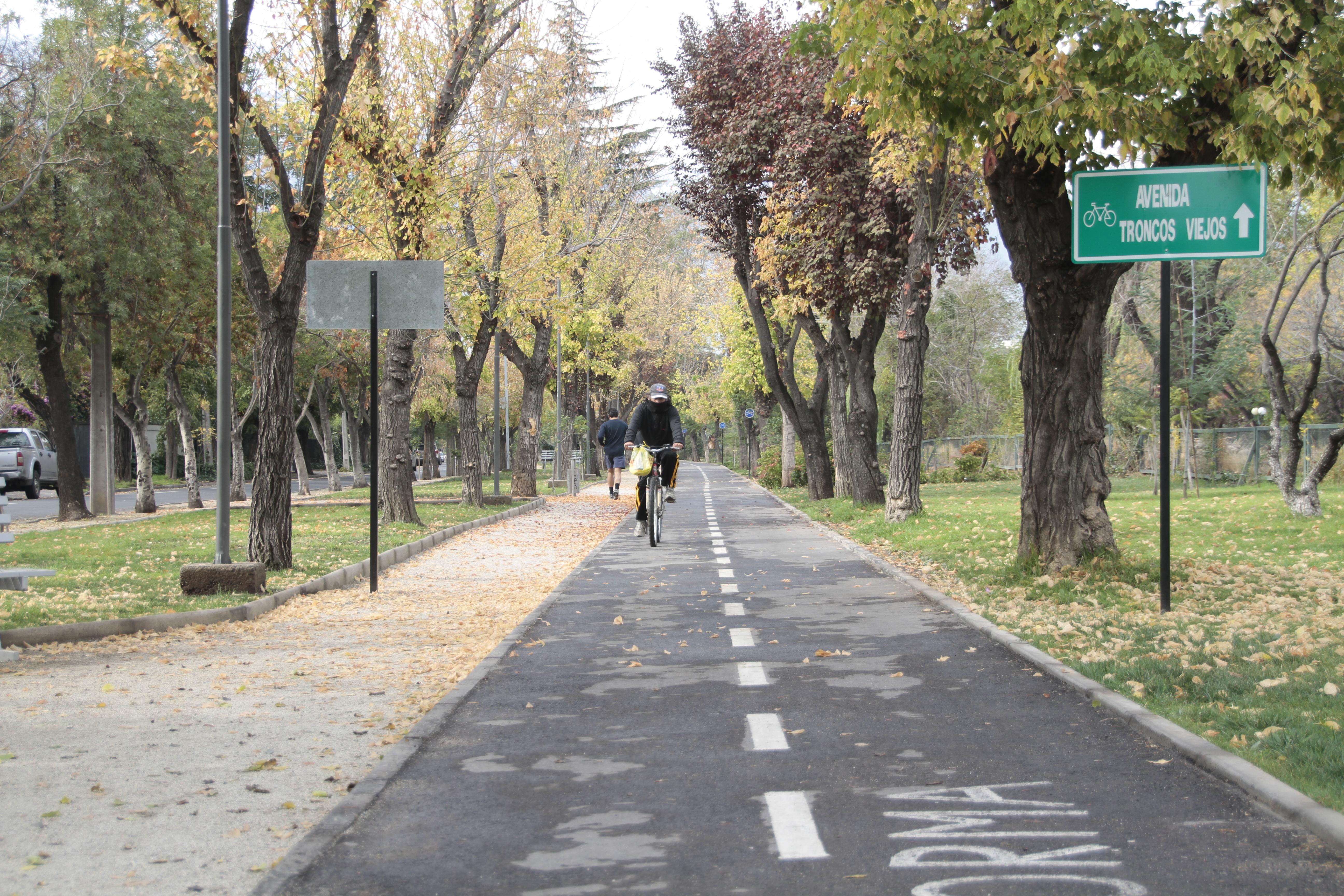 Ciclovias en Sanchez Fontecilla Con Francisco Bilbao