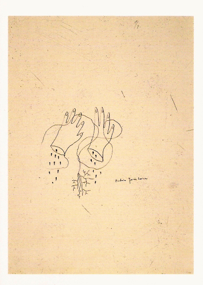 GARCIA LORCA Manos cortadas 1935-1936