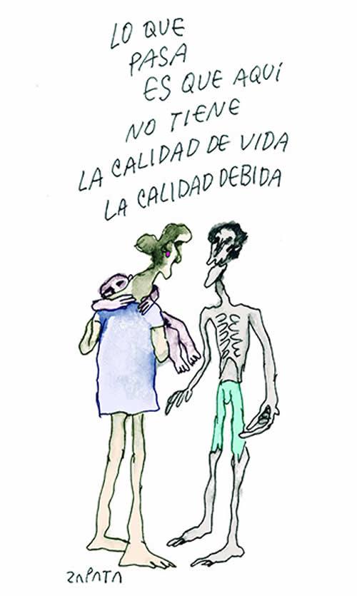 Última caricatura de Zapata. 02/ 2015