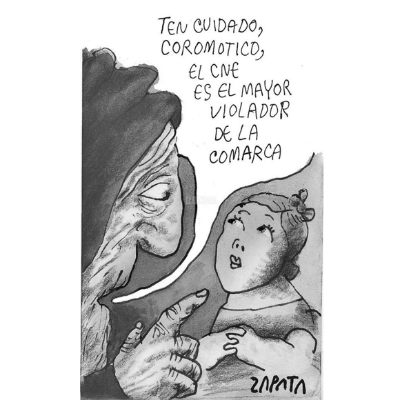 CARICATURA ZAPATA 9