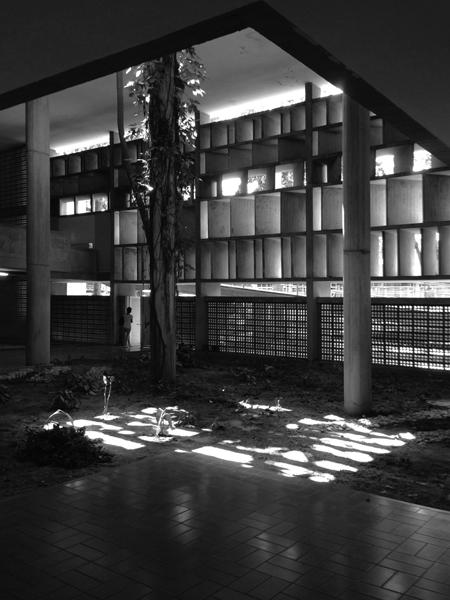 Ciudad Universitaria de Caracas_PATIO CUBIERTO. Foto_sancheztaffur