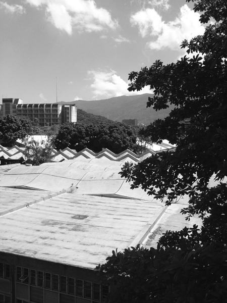 Ciudad Universitaria de Caracas_TOPOGRAFIAS. Foto_sancheztaffur