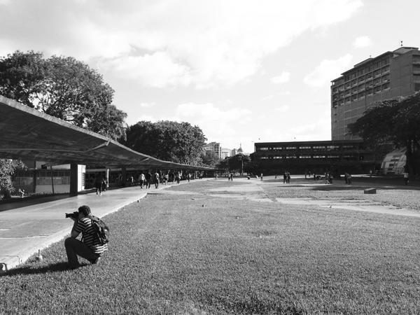 Ciudad Universitaria de Caracas_VACIO. Foto_sancheztaffur